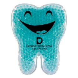 Tooth Shaped Gel Pack