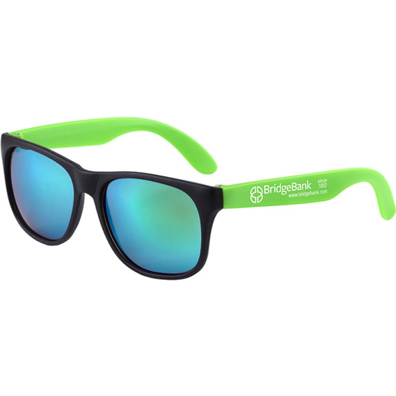 Colored Mirror Tint Sunglasses - Outdoor Sports Survival