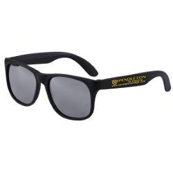 Colored Mirror Tint Sunglasses