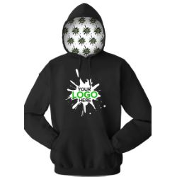 Your Logo Here Adult Pullover Hoodie