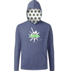 Your Logo Here Triblend Pullover Hoodie