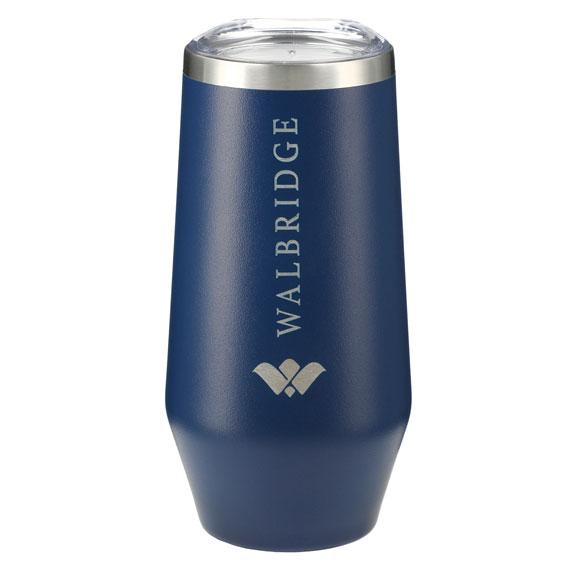 9 oz. Cru Copper Vacuum Stemless Champagne Flute - Corporate Gifts