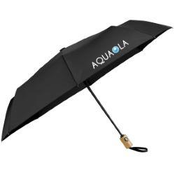 42 Recycled PET Auto Open/Close Folding Umbrella