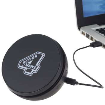 Light Up Logo Desktop Bluetooth Speaker - Technology