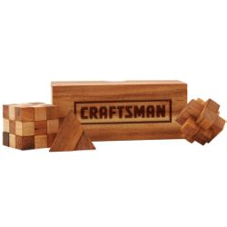 Sidewinder Wood Puzzle Set