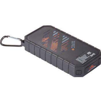 High Sierra IPX5 Solar Fast Wireless Power Bank - Technology