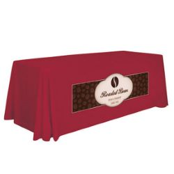 6 Ft Stain-Resistant 4-Sided Table Throw