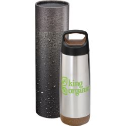 Valhalla 20 oz. Copper Bottle with Cylindrical Box