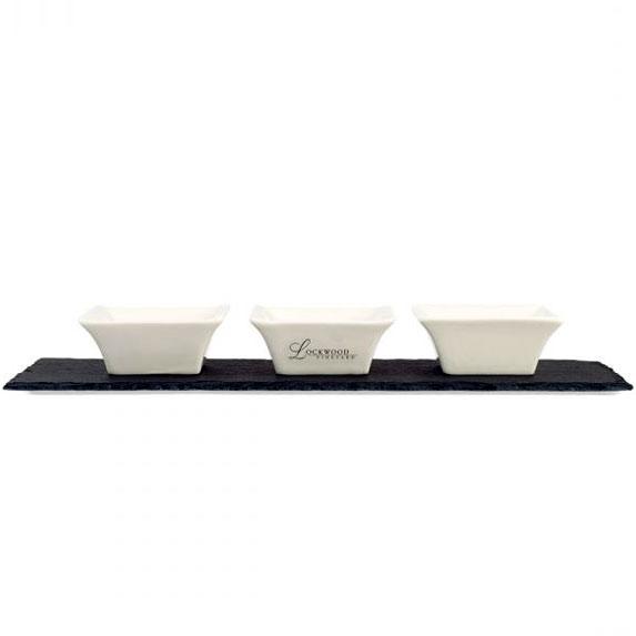 Valencia Slate Appetizer Set - Kitchen & Home Items