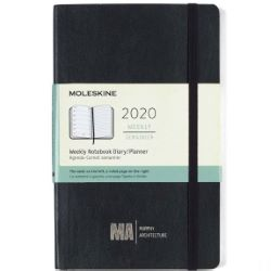 Moleskine Soft Cover Large 12-Month Weekly 2020 Planner