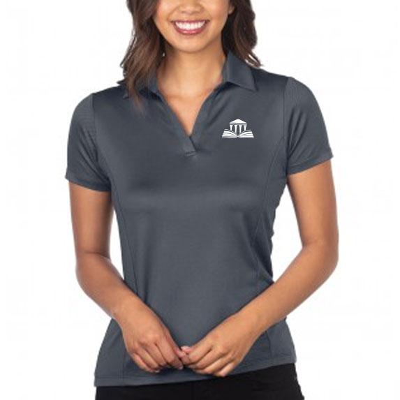 Women's Jacquard Polo - Apparel