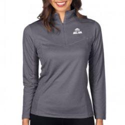 Women's Heather 1/4-Zip Performance Pullover