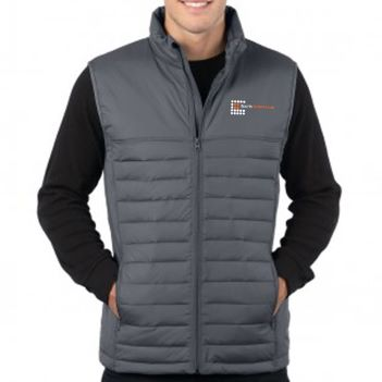 Men's Quilted Puffer Vest - Apparel