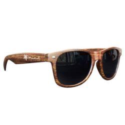 Medium Wood Tone Miami Sunglasses