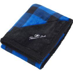 Field & Co. Buffalo Plaid Sherpa Blanket