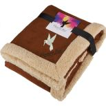 Appalachian Sherpa Blanket with Full Color Card