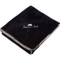 Double Sided Reversible Plush Blanket