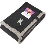 Field & Co. Oversized Wool Sherpa Blanket with Full Color Card