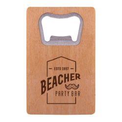 Wooden Credit Card Bottle Opener