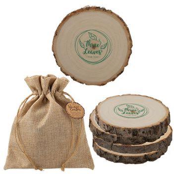 Woodlands Coaster Set - Mugs Drinkware