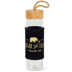 Serenity 18.5 oz. Bamboo Glass Bottle