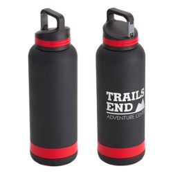 25 oz. Vacuum Insulated Stainless Steel Bottle with Clip Lid