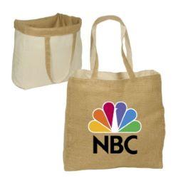 Reversible Jute/Cotton Bag