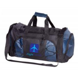 Unique Heathered Duffel Bag