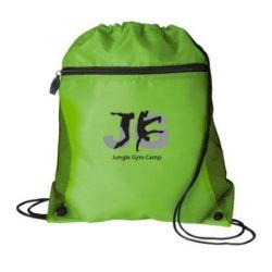 Mesh Side Drawstring Backpack