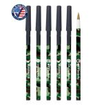 Woodland Camo Stick Pen with Cap