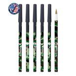 Woodland Camo Stick Pen with Cap
