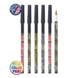 Full Color Camo Stick Pen with Cap