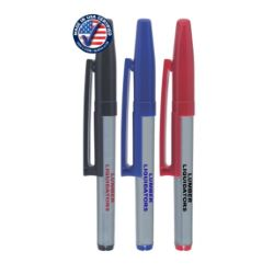 Fine Point Permanent Marker with Belt Clip