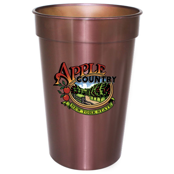 17 oz. Digital FullColor Illusion Stadium Cup - Mugs Drinkware