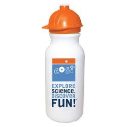 20 oz. Digital FullColor Cycle Bottle with Safety Helmet Push 'n Pull Cap