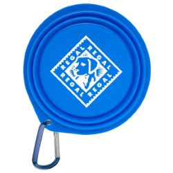 Collapsible Pet Bowl with 2 Carabiner