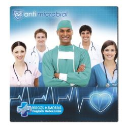 7-1/2 x 8 Antimicrobial Mouse Pad