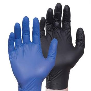 50 Pairs of Large Nitrile Gloves - Health Care & Safety Fitness Products