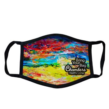 Dye Sublimated 3 Layer Mask - Health Care & Safety Fitness Products