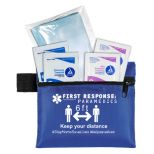 3-Ply Masks and Antiseptic Wipes in Zippered Pouch