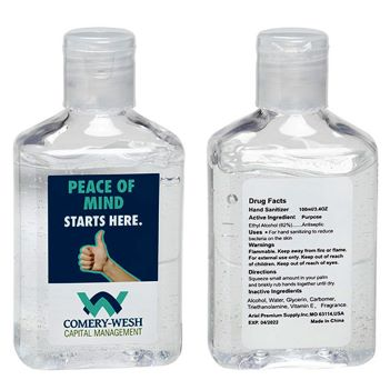 3.4 oz Hand Sanitizer with Vitamin E - Health Care & Safety Fitness Products
