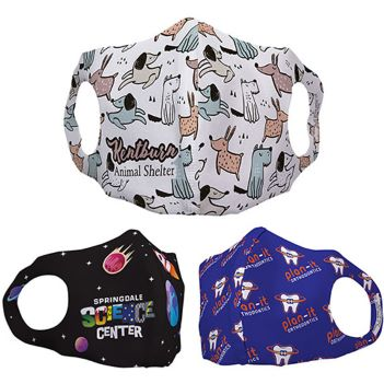 Children's Polyester Face Mask - Health Care & Safety Fitness Products
