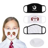 Reusable 2-Ply Full Color Kid's Face Mask