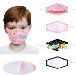 Reusable 3-Ply Full Color Children's Face Mask