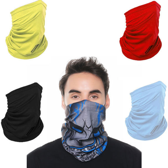 Full Color Gaiter Face Mask - Health Care & Safety Fitness Products