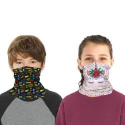 Full Color Youth Sized Gaiter Face Mask