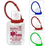 2 oz. Hand Sanitizer with Silicone Carry Leash