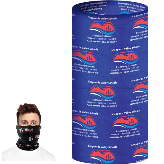 2-Ply Multi-Functional Gaiter - Health Care & Safety Fitness Products