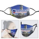 Full Color Sublimation Face Mask with Ear Loop Adjusters