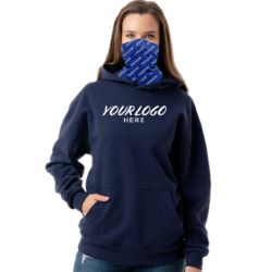 Essential Sublimated Gaiter Pullover Hoodie